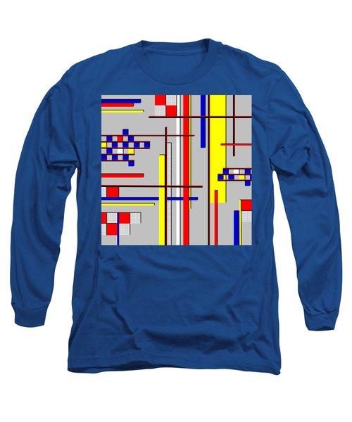De Stijl Love Long Sleeve T-Shirt