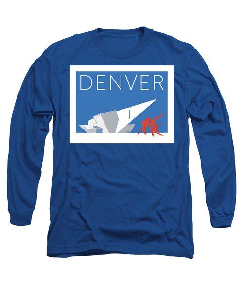 Denver Art Museum/blue Long Sleeve T-Shirt