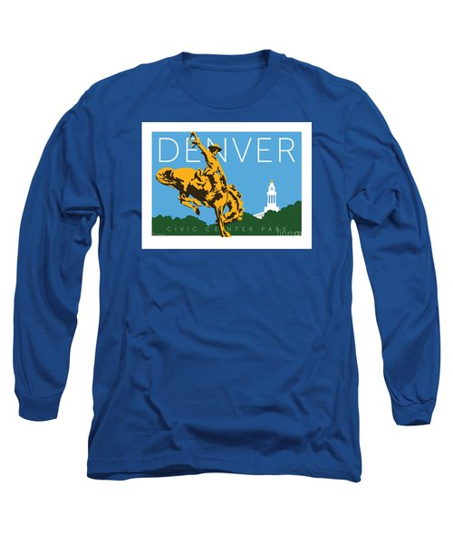 Denver Civic Center Park Long Sleeve T-Shirt