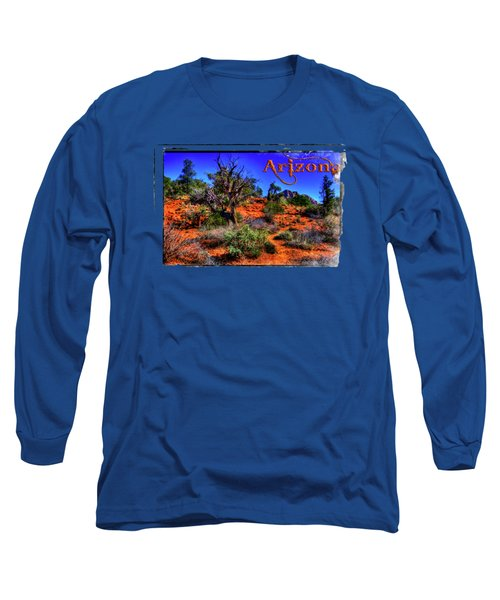 Desert And Mountains Long Sleeve T-Shirt