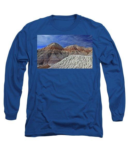 Long Sleeve T-Shirt featuring the photograph Desert Pastels by Gary Kaylor