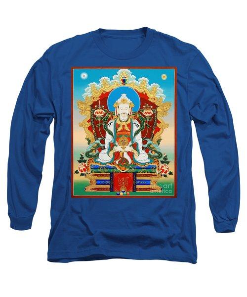 Dharmaraja Trisong Detsen Long Sleeve T-Shirt