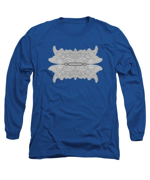 Digital Crochet Long Sleeve T-Shirt by Linda Phelps