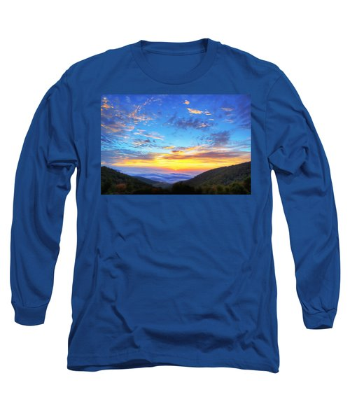 Digital Liquid - Good Morning Virginia Long Sleeve T-Shirt