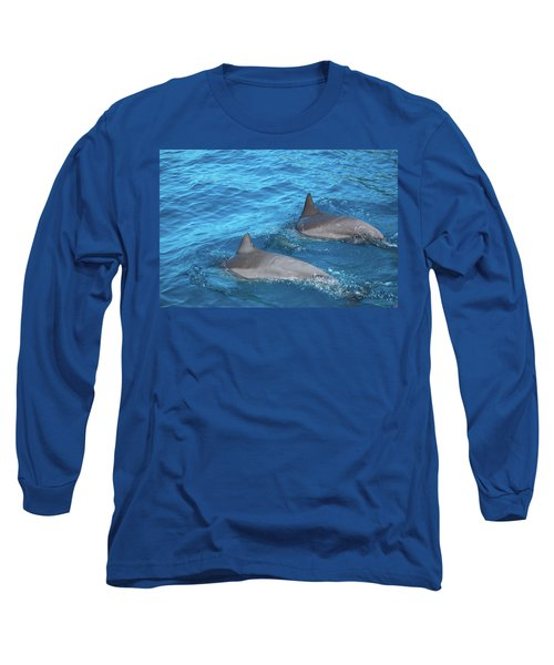 Dive On In Long Sleeve T-Shirt