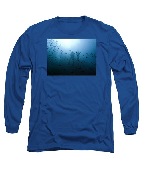 Diving With Fishes Long Sleeve T-Shirt