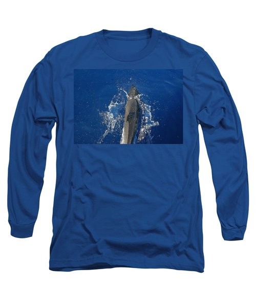 Dolphin Long Sleeve T-Shirt by J R Seymour