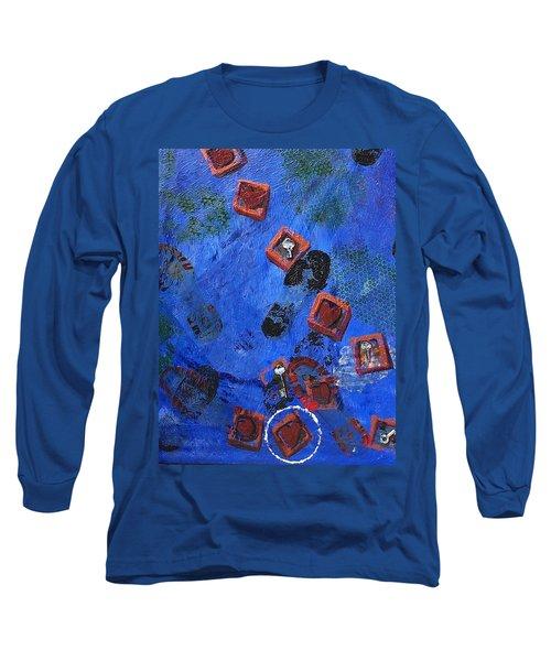 Don't Walk On My Dreams Long Sleeve T-Shirt