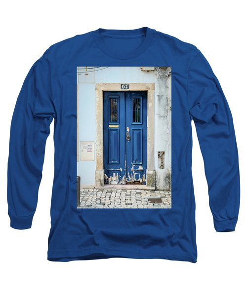 Door No 67 Long Sleeve T-Shirt by Marco Oliveira