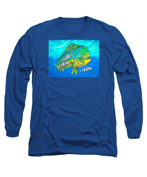 Dorado And Pilot Fish - Mahi Mahi Fish Long Sleeve T-Shirt