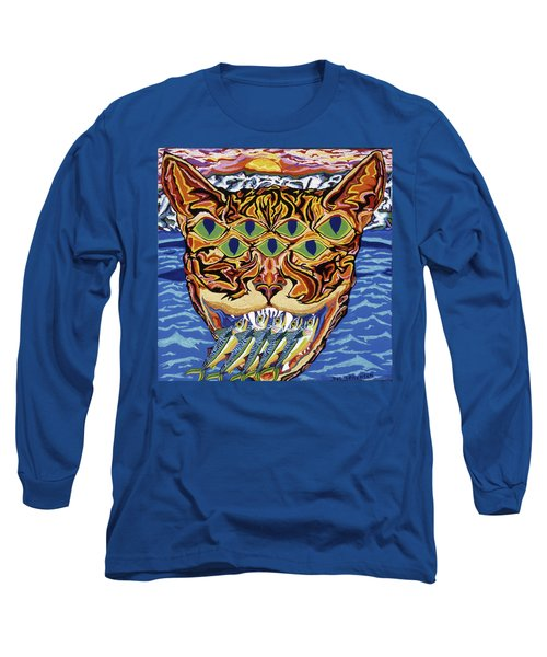Dover Cat Long Sleeve T-Shirt by Robert SORENSEN
