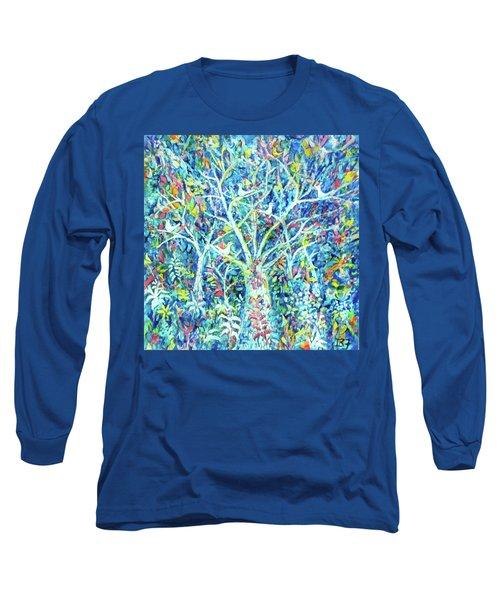 Doves In Trees Long Sleeve T-Shirt
