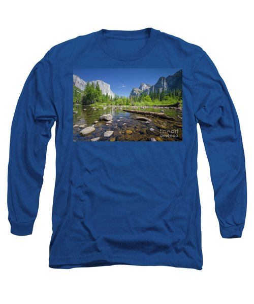 Down In The Valley Long Sleeve T-Shirt by JR Photography