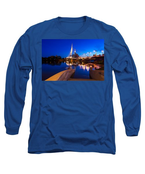 Downtown Winnipeg Long Sleeve T-Shirt