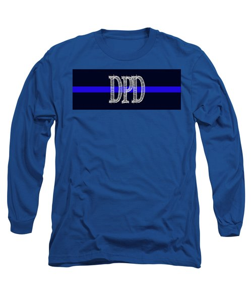 Dpd Blue Line Mug Long Sleeve T-Shirt by Robert J Sadler