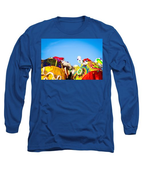 Long Sleeve T-Shirt featuring the photograph Dragon Dance by Bobby Villapando