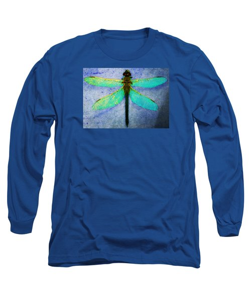 Long Sleeve T-Shirt featuring the photograph Dragonfly 5 by Timothy Bulone