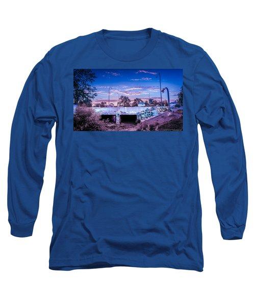 Drain_sunset.2 Long Sleeve T-Shirt