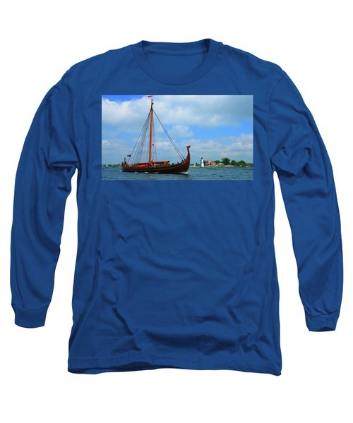 The Draken Passing Rock Island Long Sleeve T-Shirt
