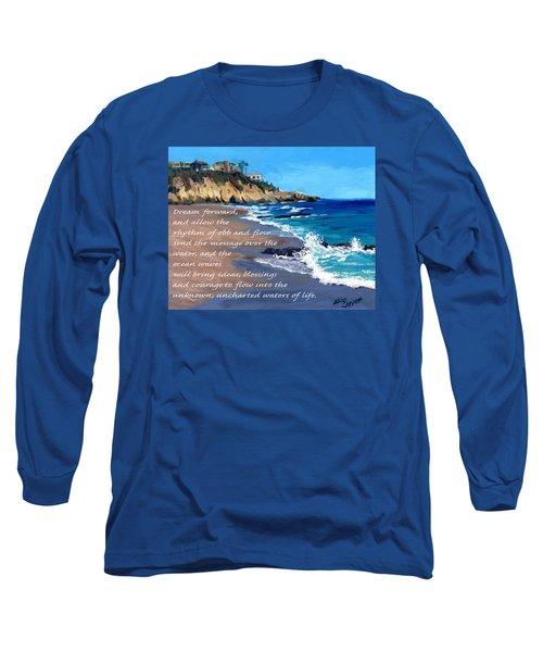 Dream Forward Long Sleeve T-Shirt