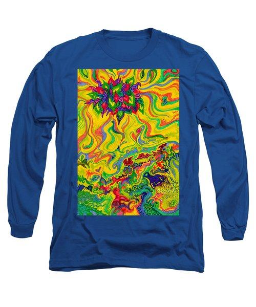 Dream-scaped Swamp Garden 2 Long Sleeve T-Shirt