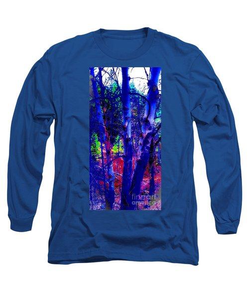 Dreaming Aspens Long Sleeve T-Shirt by Jennifer Lake