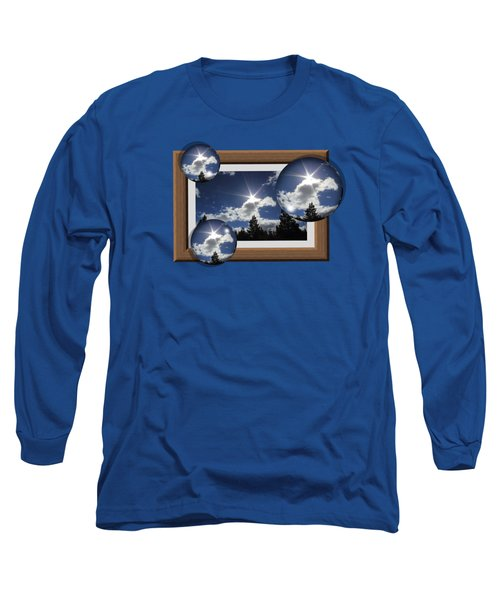 Long Sleeve T-Shirt featuring the photograph Drifting Away by Shane Bechler