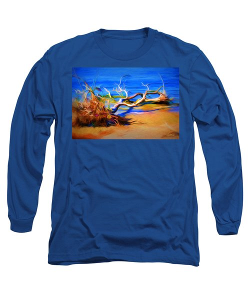 Driftwood Long Sleeve T-Shirt by Ludwig Keck