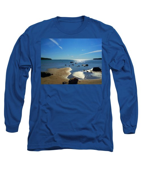 Drummond Shore 1 Long Sleeve T-Shirt by Desiree Paquette