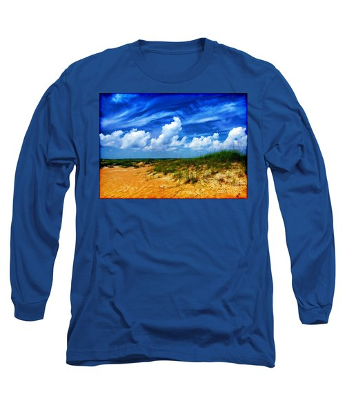 Dunes At Bald Head Island Long Sleeve T-Shirt