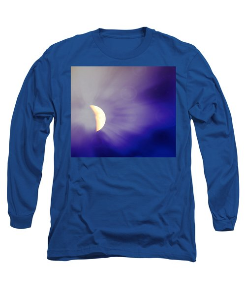 Aries Moon During The Total Lunar Eclipse 3 Long Sleeve T-Shirt