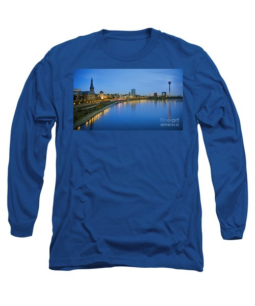Dusseldorf Skyline  Long Sleeve T-Shirt