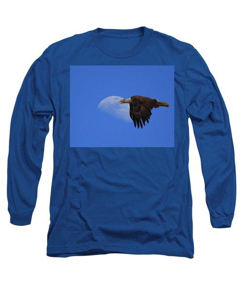 Eagle Moon Long Sleeve T-Shirt