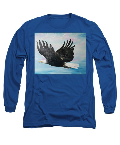 Eagle On A Mission      11 Long Sleeve T-Shirt