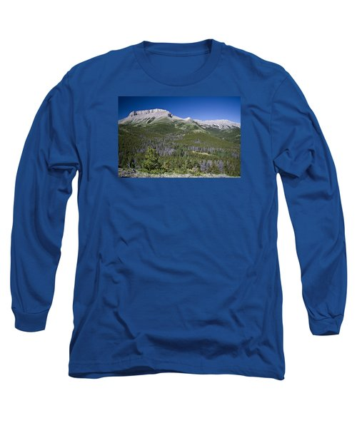 Ear Mountain, Montana Long Sleeve T-Shirt