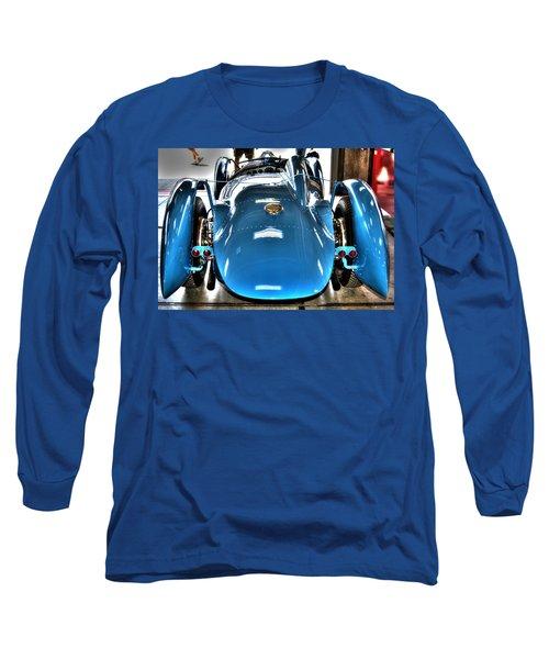 1937 Delahaye Type 145 Long Sleeve T-Shirt by Josh Williams