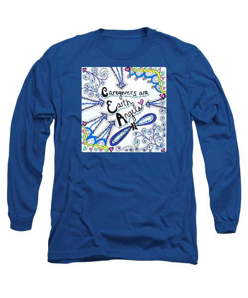 Earth Angel Long Sleeve T-Shirt by Carole Brecht