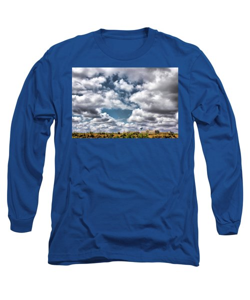 Earthbound - Live Oak Texas Long Sleeve T-Shirt by Wendy J St Christopher