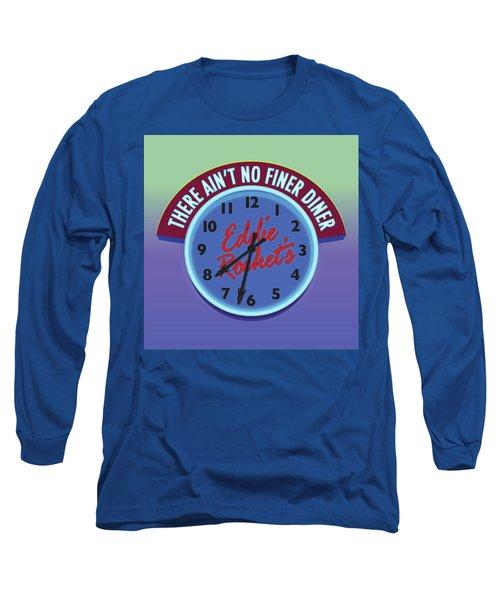 Eddie Rocket Clock Long Sleeve T-Shirt