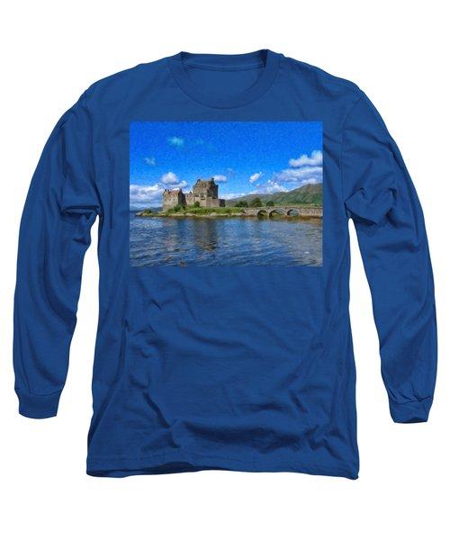 Eilean Donan Castle - Sct671252 Long Sleeve T-Shirt