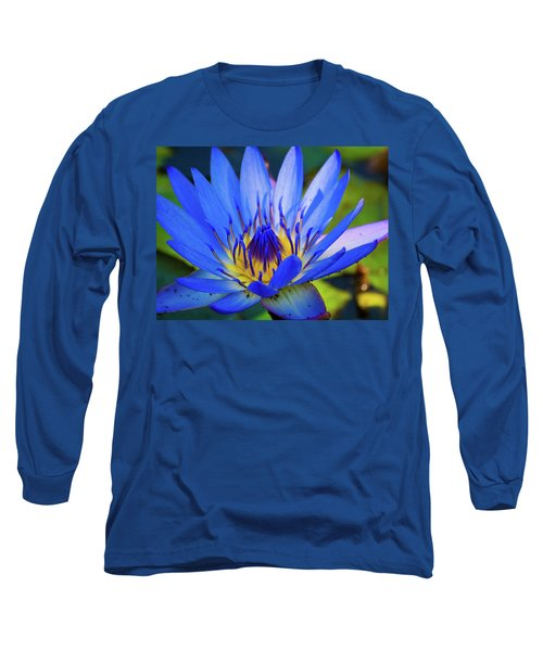 Electric Lily Long Sleeve T-Shirt