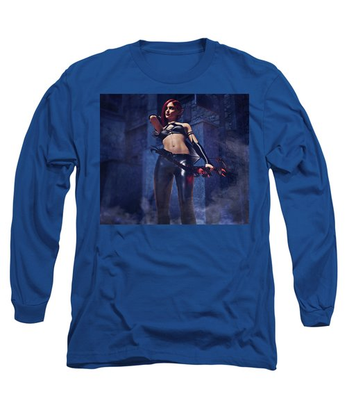 Elf Assassin Long Sleeve T-Shirt