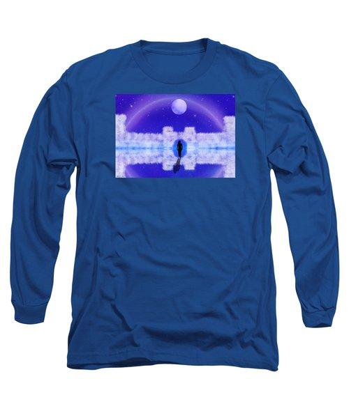 Long Sleeve T-Shirt featuring the digital art Emily's Journey Part II by Bernd Hau