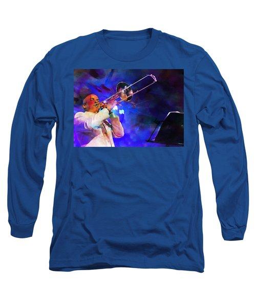 Emperor Of Salsa Dura, Jimmy Bosch  Long Sleeve T-Shirt