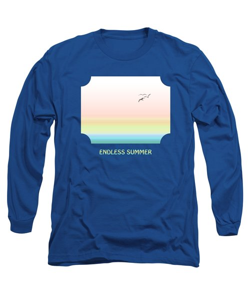 Endless Summer - Blue Long Sleeve T-Shirt
