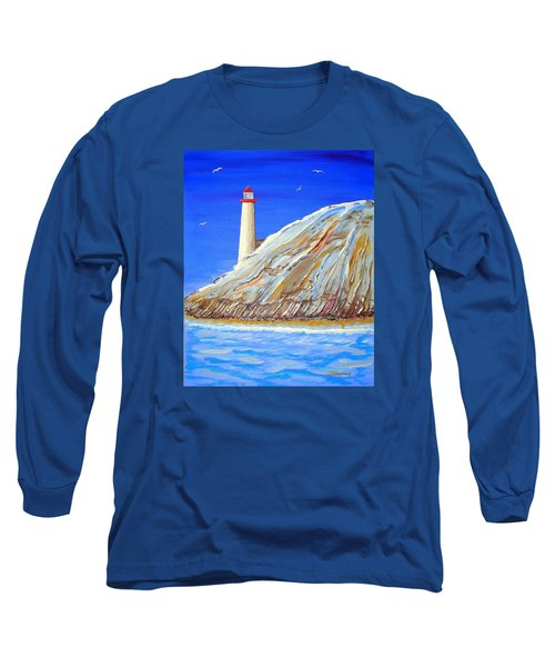 Entering The Harbor Long Sleeve T-Shirt by J R Seymour