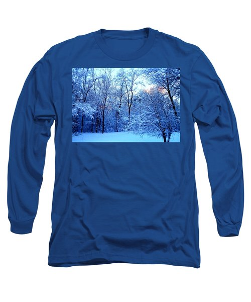 Ethereal Snow Long Sleeve T-Shirt