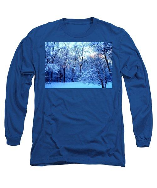 Ethereal Snow Long Sleeve T-Shirt