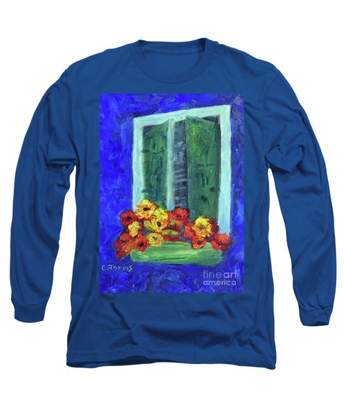 European Window Box Long Sleeve T-Shirt