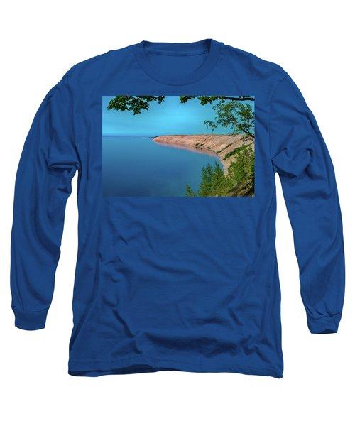 Eveing Light On Grand Sable Banks Long Sleeve T-Shirt